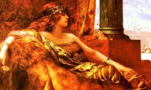Lukisan Ratu Theodora karya Jean Joseph Benjamin Constant/Foto: dok. Istimewa