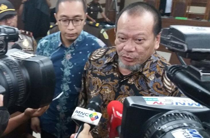 Mantan Ketua Umum PSSI-KPSI (2012-2016) La Nyalla Mattalitti. Foto Fadhilah/Nusantaranews