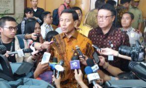 Menteri Koordinator bidang Politik Hukum dan Keamanan Wiranto. Foto Fadhilah/Nusantaranews