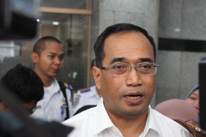 Menteri Perhubungan Budi Karya Sumadi. Foto Andika/Nusantaranews