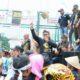 Para petani tembakau yang melakukan aksi unjuk rasa di depan Gedung DPR/MPR RI/Foto Deni / Nusantaranews