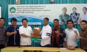 Pelantikan Himpunan Mahasiswa Pascasarjana Indonesia (HMPI) periode 2016-2018. Foto Dok. Pribadi