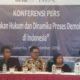 Pengamat Politik dari Universitas Gajah Mada Arie Sujito (baju putih). Fadhila/Nusantaranews
