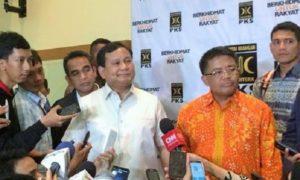 Prabowo bertemu Sohibul Iman Bahas Demo 4 November 2016/Foto: Dok. IST