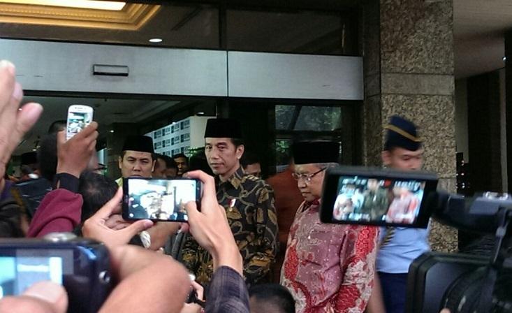 Presiden Jokowi Saat Berkunjung Ke PBNU. Hatiem/Nusantaranews