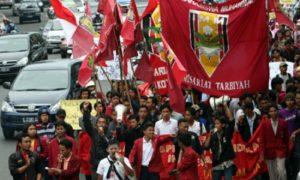 Ribuan massa dari Ikatan Mahasiswa Muhammadiyah (IMM). Foto IST