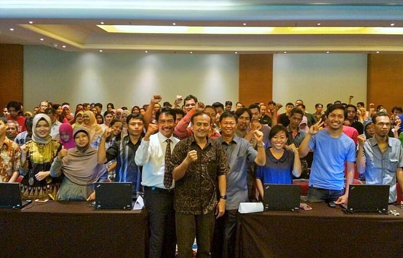 Pelatihan Manajemen Website Program Satu Juta Nama Domain di Hotel Sahid Raya Yogyakarta, Senin (7/11/2016)/Foto: Dok. Humas Kominfo