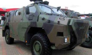Sanca Kendaraan Terbaru Anti Ranjau Milik PT Pindad. Foto IST