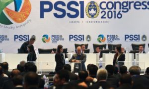 Suasana Kongres PSSI Periode 2016-2020 Di Jakarta. Foto via Tempo