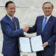 Tom Lembong dan Takeshi Kunibe/Foto Istimewa