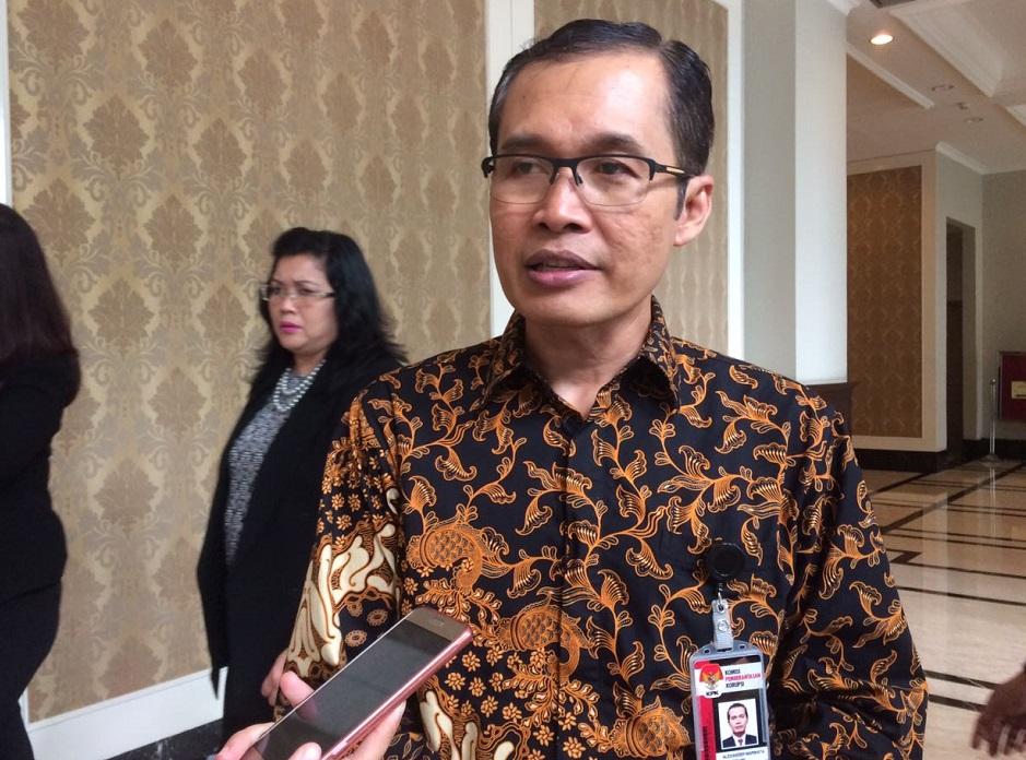 Wakil Ketua Komisi Pemberantasan Korupsi (KPK) Alexander Marwatta. Foto Fadhilah/Nusantaranews
