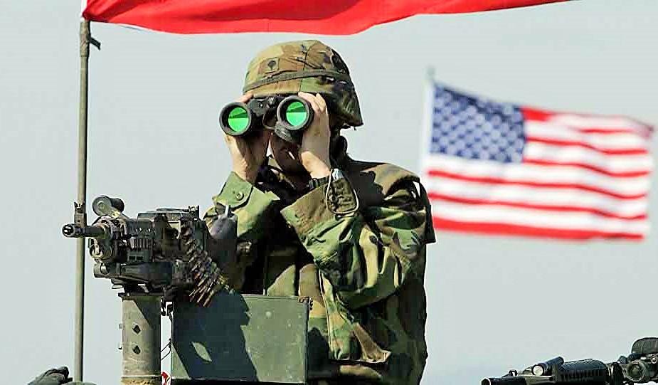 Tentara Amerika/Ilustrasi