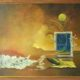 """Bulan di Atas Jendela"" 70 x 90 cm acrilyc on canvas, 2004/Lukisan Wang Arif via wangarif.wordpress.com"