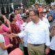Cagub Anies di Jalan Raya Kalisari, Gang Kemang, Kelurahan Kalisari, Kecamatan Pasar Rebo, Minggu (6/11)/Foto: Dok. Republika
