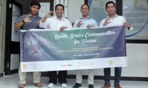 Public Service Communication for Tourism/Foto: Dok. Prodi Ilmu Komunikasi FISIB