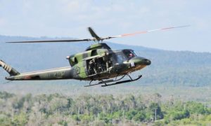 Helikopter Bell 412 Milik TNI AD/Foto: Dok. Dispenad