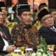 Presiden Joko Widodo (tengah) sasat menghadiri Munas VIII LDII di Balai Kartini, Jakarta, Rabu (9/11)/Foto: dok. Humas LDII