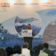 """Menteri BUMN Rini Soemarno saat menjadi pembicara utama dalam Seminar Internasional Industri Pertahanan dalam """"Indo Defence 2016 Expo & Forum"""", Kamis (3/11)/Foto: Dok. Humas Kemhan"""