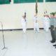 Kasrem 083/Baladhika Jaya Memimpin Laporan Korps Para Pamen Korem 083/Bdj/Foto Penrem 083/Bdj