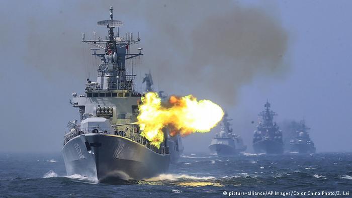 Saling Tikam Berebut Laut Cina Selatan/Foto via Deutsche Welle (DW)