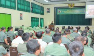 Pekan Bintal Terpadu Menuju Hidup Sehat-Bahagia di Makorem 083/Bdj/Foto: Dok. Penrem 083/Bdj