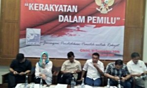 Acara Refleksi Akhir Tahun JPPR: Kerakyatan dalam Pemilu/Foto : Dok. trendjakarta.com