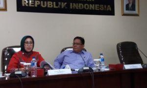 Anggota Ombudsman RI, Ninik Rahayu dalam Konferensi Pers 'Catatan Akhir Tahun (CATAHU) di Bidang Hukum', di Kantor Ombudsman RI, Jakarta Selatan, Jumat, (30/12/2016)/Foto Fadilah/NUSANTARAnews