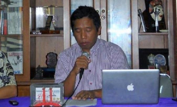Ketua Umum Aliansi Jurnalis Independen (AJI) Suwarjono/Foto: Dok. VOA Indonesia