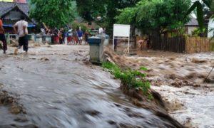 Banjir Bandang Bima. Foto Dok. Pribadi
