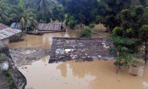 Banjir Bandang Landa 5 Kabupaten di Gorontalo. Foto via kilas negeri