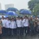 Presiden Jokowi didampingi Wapres JK, Menteri Agama, saat menuju Monas untuk Shalat Jumat berjamaah bersama massa AksiSuperDamai212/Foto: Istimewa (stela-nau)