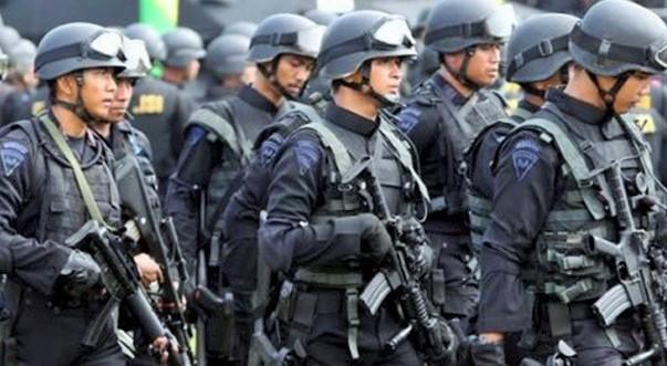 Ilustrasi: Densus 88 dan Kronologis Penangkapan Teroris di Bekasi/Foto: Dok. Jawa Pos