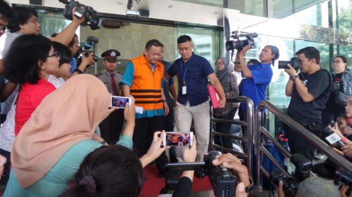 Deputi Informasi dan Hukum Badan Keamanan Laut (Bakamla), berinisial ESH (Eko Susilo Hadi). Foto via tribun