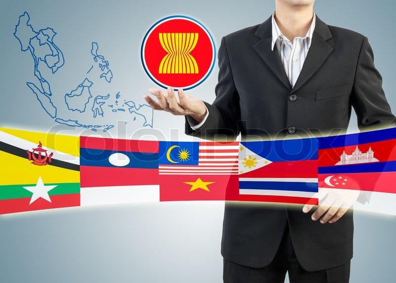 Ekonomi pasar ASEAN. Foto IST