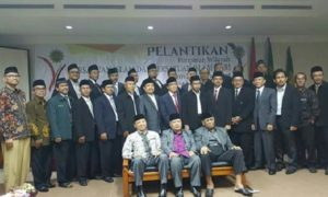 Foto bersama usai pelantikan pengurus baru PW Persis Jabar/Foto: Dok PW Persis Jabar