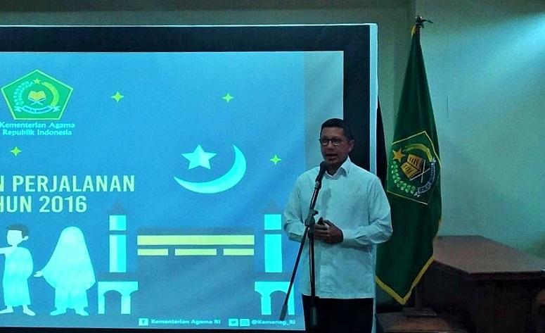 Menteri Agama (Menag) Lukman Hakim Saifuddin/Foto Andika /NUSANTARAnews