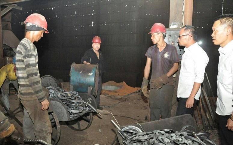 Menaker M. Hanif Dakhiri Sidak TKA Asing Asal Tiongkok di Bogor/Foto : Dok. Humas Kemnaker