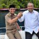 Mendes PDTT Eko Sandjojo bersama Bupati Morowali Anwar Hafid di Pulai Sombori, Kabupaten Morowali, Sulawesi Tengah, Selasa (2/12)/Foto; Dok. Humas Kemendesa