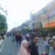 Kondisi Jalan Malioboro Steril dari Kendaran Bermotor jelang malam tahun baru/Foto Eeriec/NUSANTARAnews