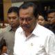 Jaksa Agung RI, M. Prasetyo, saat rehat dalam Rapat Kerja bersama Komisi III DPR RI. Foto Deni Muhtarudin/Nusantaranews.co