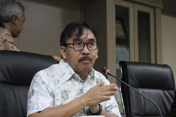 Kepala Badan Ketahanan Pangan Kementan, Gardjita Budi di kantornya, Jakarta, Jumat (30/12/2016)/Foto Andika/NUSANTARAnews