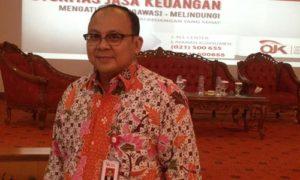 Kepala Departemen Perlindungan Konsumen Otoritas Jasa Keuangan (OJK), Anto Prabowo. Foto via cakra