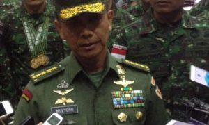 Kepala Staf TNI AD, Jenderal TNI Mulyono. Foto Deni/Nusantaranews