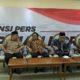 Ketua DPD RI M. Soleh, Wakil Ketua MPR RI Oesman Sapta, Ketua MPR RI Zulkifli Hasan dan Wakil Ketua MPR RI Hidayat Nur Wahid/Foto Deni / NUSANTARAnews