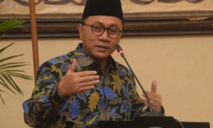 Ketua MPR RI, Zulkifli Hasan. (Dokumentasi Humas MPR). Foto Deni/Nusantaranews