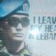"""Poster """"I Leave My Heart In Lebanon""""/Foto dim05/prspen081"""