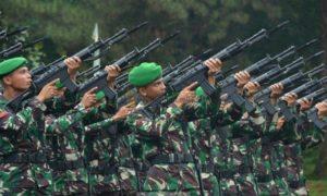 Kontingen Kodam VII/Wirabuana saat siap melaksanakan aba-aba dari Komandan Peleton. Foto dok. Dispenad