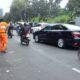 Usai Aksi 212, Lalu lintas di Jl Medan Merdeka Selatan lancar/Foto: Dok. Detikcom