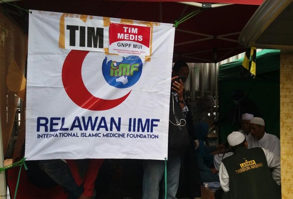 Layanan Medis Gratis GNPF-MUI. Foto Fadilah/Nusantaranews