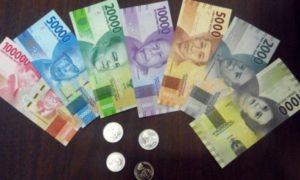 Mata uang baru rupiah. Foto via tribun